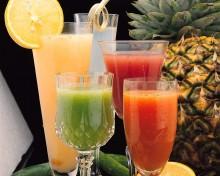 koktajle ze świeżych owoców